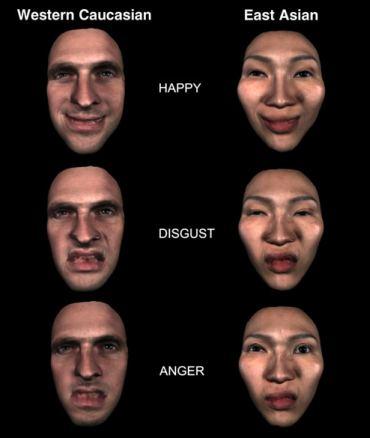 Выражение эмоций зависит от культурных особенностей нации (ФОТО ...