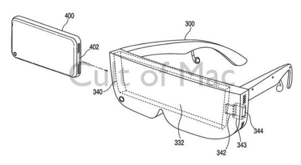 ФОТО: Apple запатентовала свои очки-смартфон