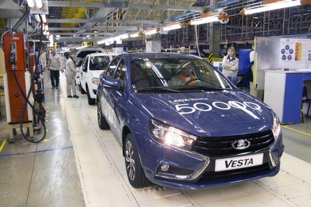 «АвтоВАЗ» хочет увеличить экспорт на50 процентов в2016г.