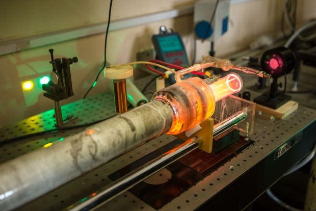 ВТомске создан противоракетный лазер напарах стронция