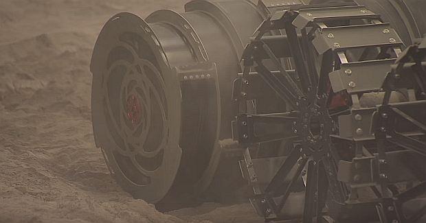 NASA показало робота, который полетит на иные планеты заресурсами