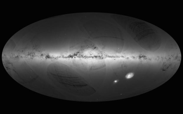 ВМадриде продемонстрирована беспрецедентно реальная карта звездного неба