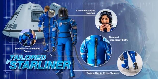 Для нештатных ситуаций: Boeing представил новый скафандр для астронавтов