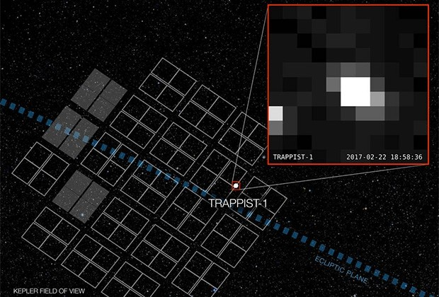 NASA показало кадры системы, планеты которой могут быть пригодны для жизни