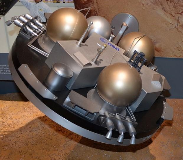 Роскосмос поведал опричинах жесткой посадки наМарс модуля «Скиапарелли»