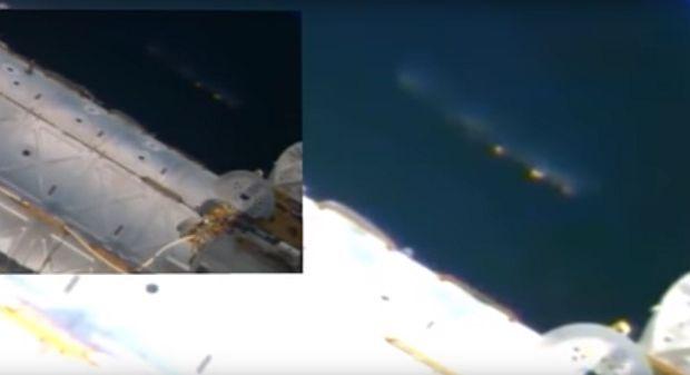 МКС впрямом эфире транслировала «корабль пришельцев»