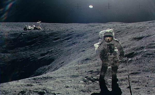 на луне нло фото