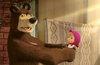 Кадр из мультсериала «Маша и Медведь»