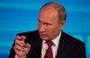 Путин призвал продолжать борьбу с пьянством «аккуратно»