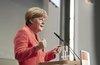 Меркель не нашла оснований для отмены санкций против России