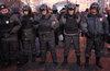 СКР возбудил дело после нападения на полицейского в ходе митинга в Москве
