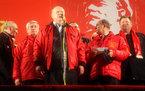У микрофона бессменный лидер КПРФ Геннадий Зюганов © KM.RU, Алексей Белкин