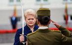 Даля Грибаускайте. Фото с ее страницы в Facebook