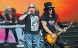 Guns'n'Roses в оригинальном составе дали трехчасовое шоу в Москве