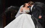 Наследница империи Swarovski вышла замуж в платье за 1 млн долларов