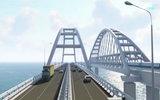 Как будет выглядеть Крымский мост с подсветкой ночью