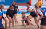 Россиянки стали чемпионками Европы по пляжному регби