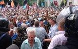 В Киеве произошли столкновения митингующих шахтеров и полиции