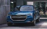 Audi представила первый серийный электромобиль e-tron