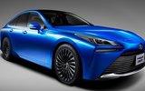 Toyota рассекретила водородный седан    Mirai