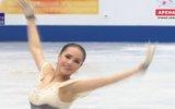 Алина Загитова выиграла короткую программу на ЧМ по фигурному катанию