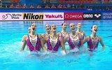 Российские синхронистки завоевали золото в технической программе на ЧМ-2019