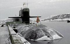 Подводная лодка проекта 949А «Антей» © РИА Новости, Юрий Кавер