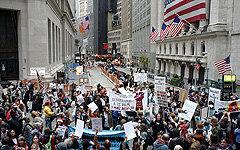 Акции протеста на Уолл-стрит (фото amdbenchmark.com)