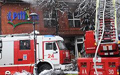 Взрыв в «Il Pittore» © РИА Новости, Владимир Федоренко