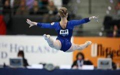 финале Чемпионата мира по спортивной гимнастике 2010 в Роттердаме...