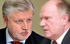 Дебаты Сергея Миронова и Геннадия Зюганова
