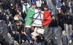 Итальянские студенты вышли на улицы крупных городов