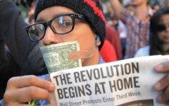 Акция «Оккупируй Уолл-стрит» набирает обороты