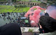 Митинговая стихия захлестнула Рим