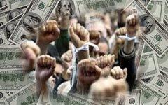 «Спонсоры» из США выводят на митинг в Москве своих клиентов