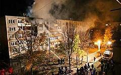 Взрыв газа в Бронницах