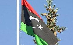 Флаг ПНС Ливии