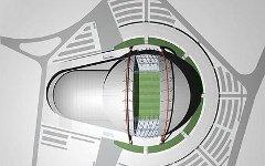 Проект стадиона «Спартак» в Москве