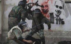 Подавление акции протеста в Египте. Фото пользователя Твиттера @YaraKassem