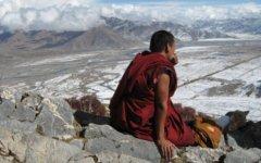 Тибетский монах. Фото с сайта liveinternet.ru
