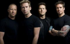 Nickelback. Фото организаторов московского концерта