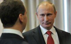 Дмитрий Медведев и Владимир Путин © РИА Новости, Алексей Никольский