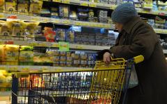 Пенсионерка в магазине © РИА Новости, Леся Полякова