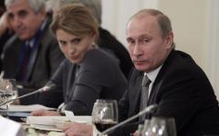 Владимир Путин и клуб «Валдай» © РИА Новости, Сергей Гунеев