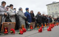 Акция памяти © РИА Новости, Кирилл Каллиников