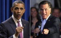Барак Обама и Митт Ромни. Фото с сайта freerepublic.com