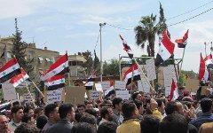 Весна 2011 года, начало сирийских волнений. Фото с сайта wikipedia.org