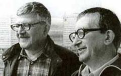 Аркадий и Борис Стругацкие. Фото с сайта rusf.ru