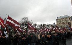 День латвийского легионера в Риге. Фото Dezidor с сайта wikipedia.org