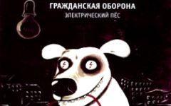 Фрагмент обложки сингла  «Электрический пес»